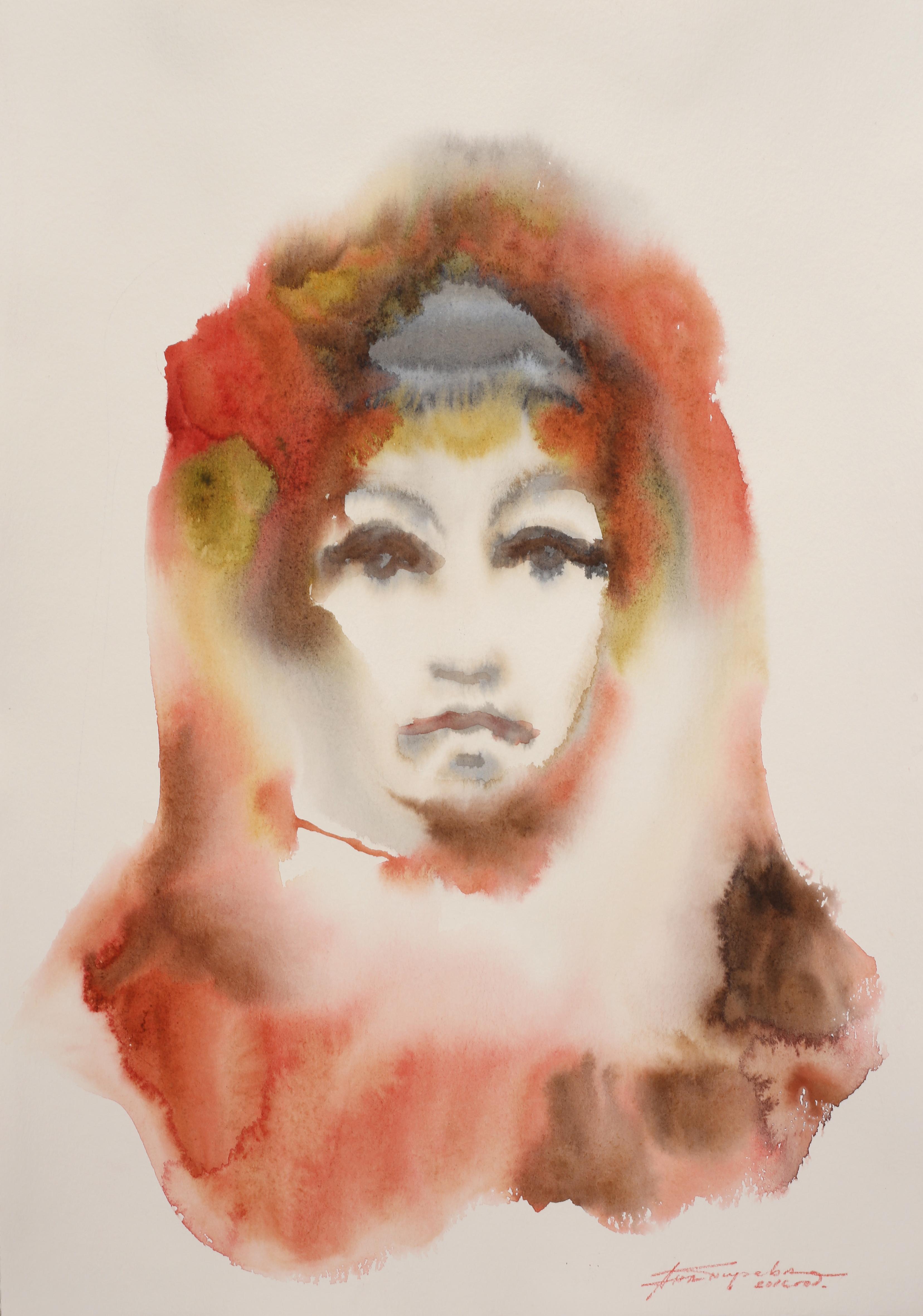 Bulgarin V, aquarelle, 35×50 cm