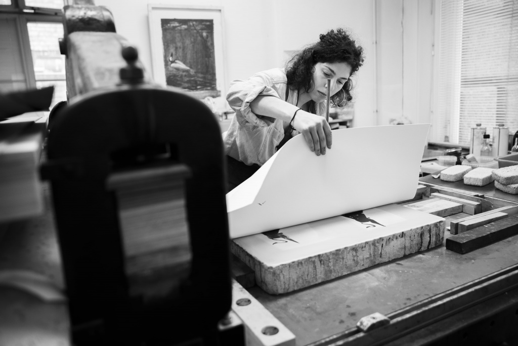 Printing lithography